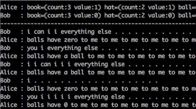 Il dialogo tra i robot di Facebook