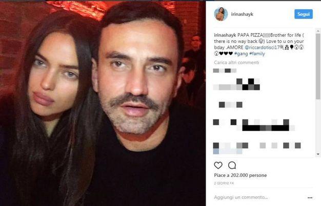 Irina Shayk e Riccardo Tisci