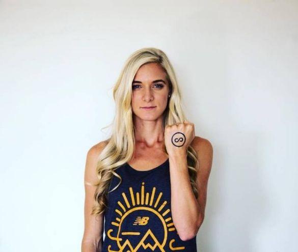 Emma Coburn, 26 anni, americana: siepista, ha vinto il bronzo nei 3000 metri alle Olimpiadi di Rio 2016 (Instagram)