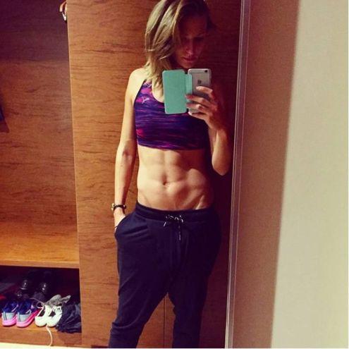 Kristin Gierisch, 26 anni, tedesca: oro nel salto triplo agli Europei Indoor di Belgrado 2017 (Instagram)