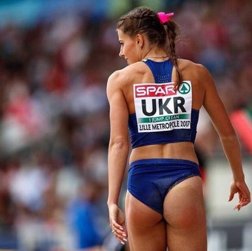 Maryna Bekh, 22 anni, ucraina: specialista nel salto in lungo (Instagram)