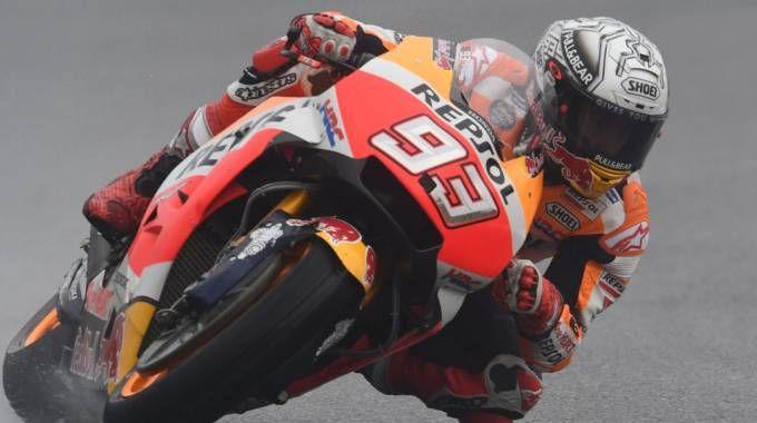MotoGp Brno, Marquez vola nelle Libere 3 (Afp)