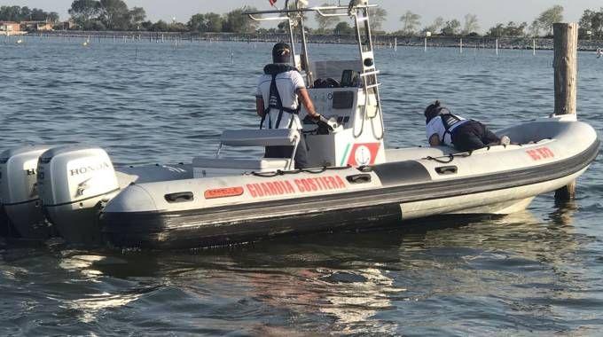 I soccorsi della guardia costiera