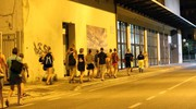 L'arrivo degli evacuati (Fotoprint)