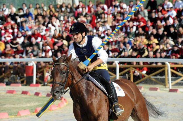 Il vincitore: Luca Innocenzi di Porta Solestà (foto Labolognese)