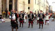 Gli armati di S. Emidio (foto Labolognese)