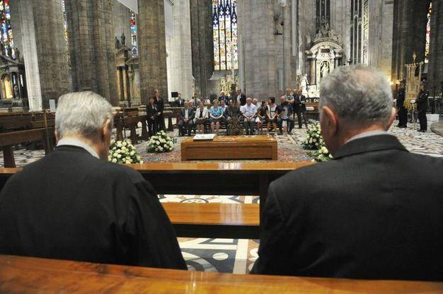 Il saluto di Milano al cardinale Tettamanzi (Newpress)