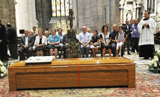 L'omaggio in Duomo (Newpress)