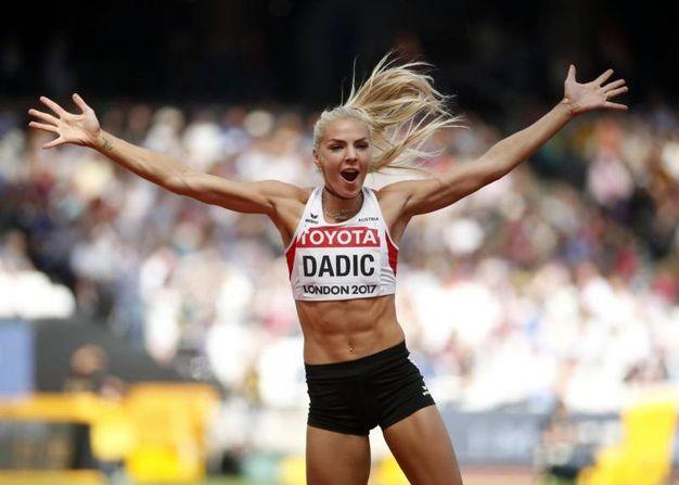 Ivona Dadic, heptathlon (ansa)