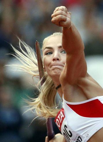 Ivona Dadic, salto in lungo (ansa)