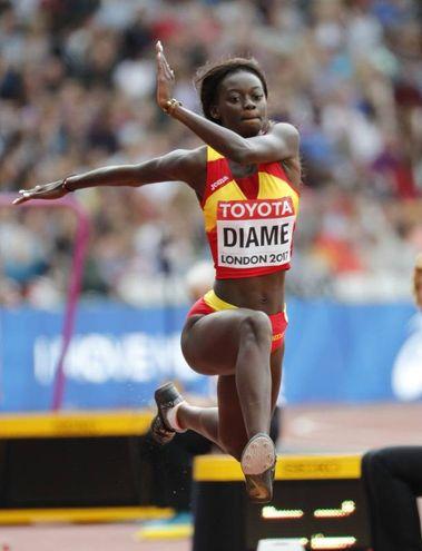 Fatima Diame, salto triplo (Lapresse)