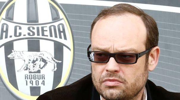 L'ex presidente del Siena Massimo Mezzaroma (Di Pietro)
