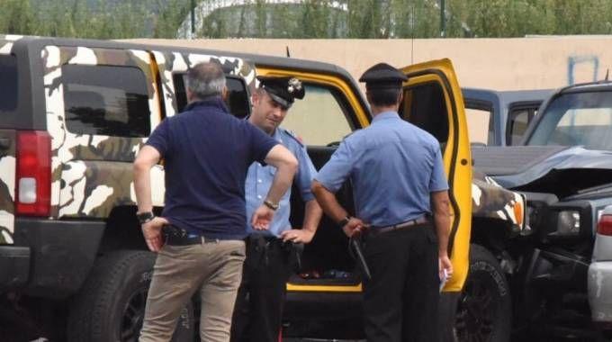 La sparatoria tra i due clan rom rivali è avvenuta in piazza Pertini, nel centro di Trescore Balneario (De Pascale)