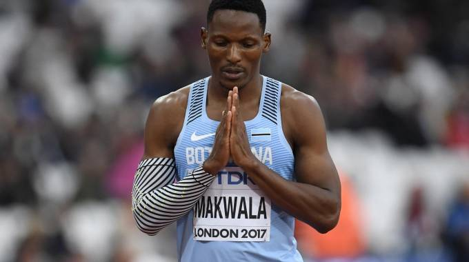 Isaac Makwala. 30 anni