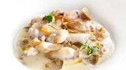 Spumoso di patata e calamaretti