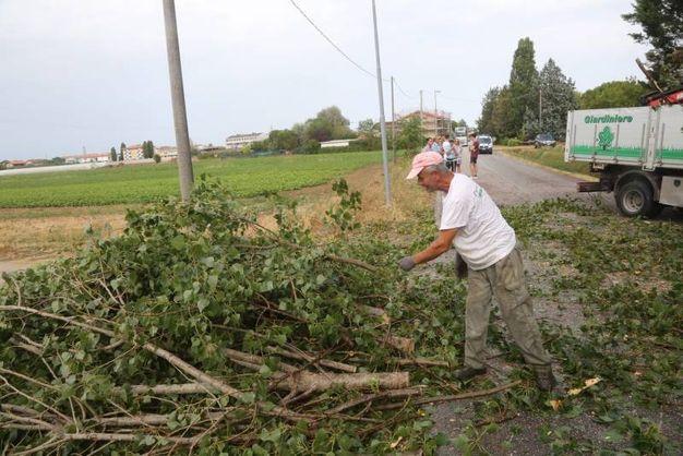L'ondata di maltempo ha colpito tutta la Romagna (foto Ravaglia)