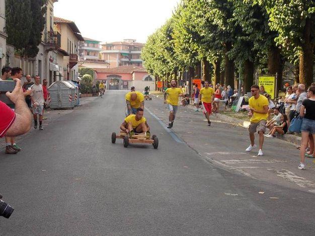 La corsa dei carretti