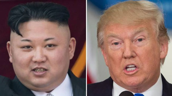 Kim Jong-un e Donald Trump (Afp)