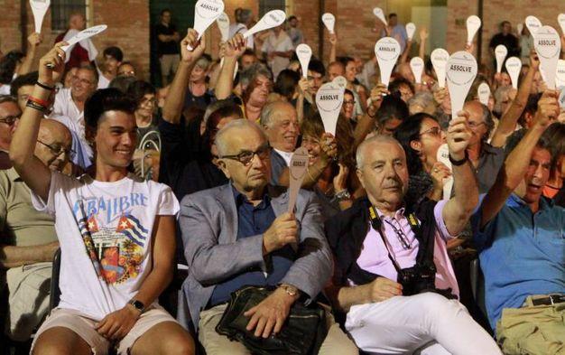 Il pubblico a Villa Torlonia (foto Ravaglia)