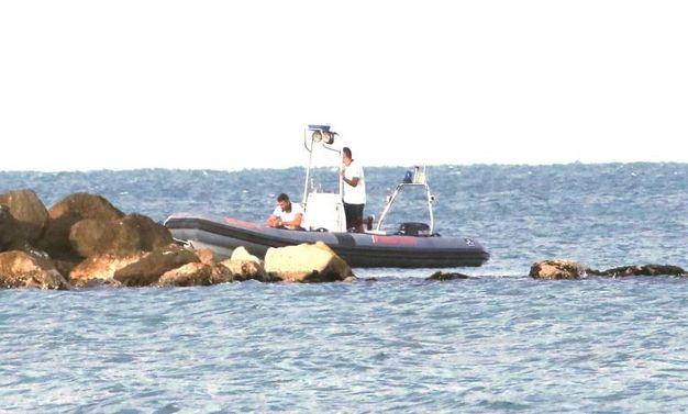 Il sub è stato visto in difficoltà durante l'immersione vicino agli scogli (foto Ravaglia)