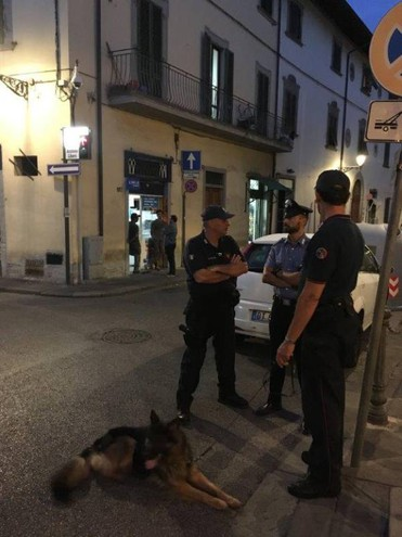 Controlli in piazza Lippi