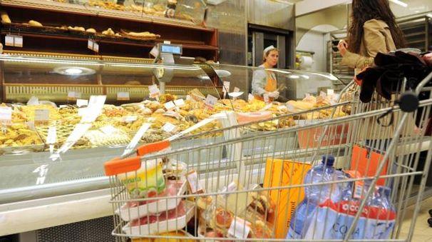 Un supermercato (foto d'archivio)