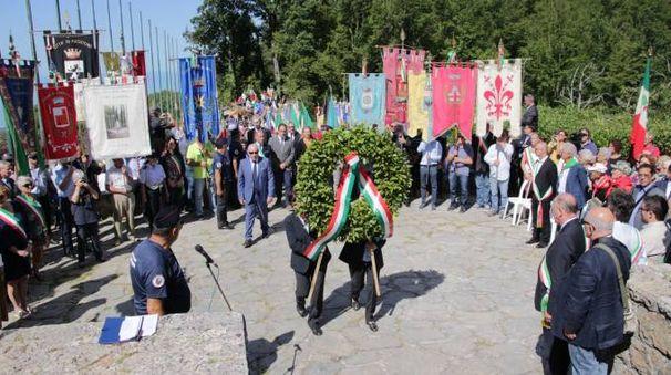 Sant'Anna di Stazzema, celebrazioni 73esimo anniversario della strage (Umicini)