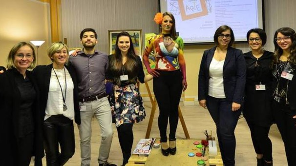 Artefici dell'evento a San Bellino  Raffaele Campion, Flavia Micol Andreasi e Sara Caraccio