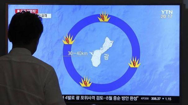 La Corea del Nord minaccia Guam (Ansa)