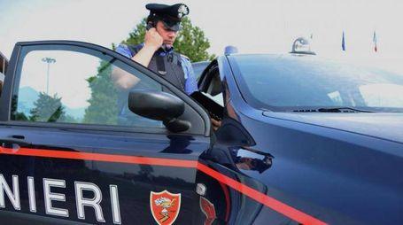 I carabinieri hanno sorpreso il marocchino in un locale di Reggio