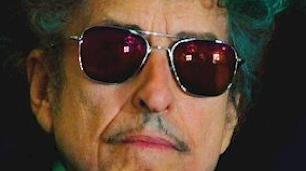 Bob Dylan nella copertina del libro