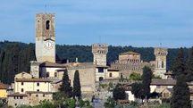 Badia di Passignano Tavarnelle Val di Pesa (fonte: Wikipedia - Vignaccia76)