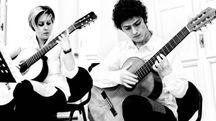 I due giovani musicisti emergenti, Alessandra Lucchetti e Nicola Bertozzi