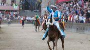 L'arrivo vittorioso di Brigante su Porto Alabe (foto Paolo Lazzeroni)