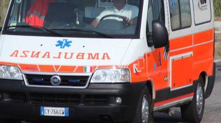 Ambulanza in una foto d'archivio