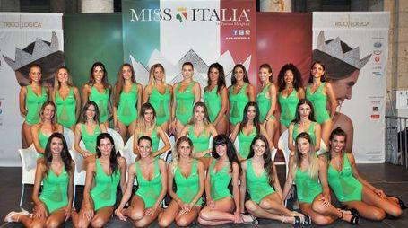 Le finaliste di Miss Toscana 2017