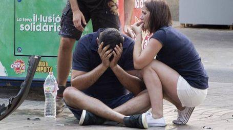 Attentato a Barcellona (Ansa)