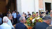 Folla commossa ai funerali del pm Antonio Giaconi (foto Valtriani)