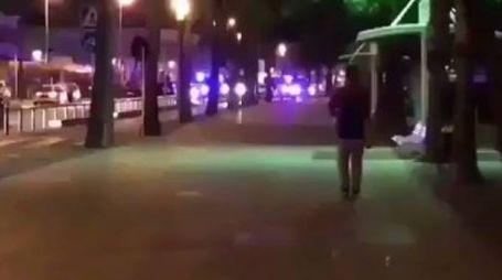 Cambrils, spari in strada
