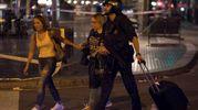 Sulla Rambla dopo l'attentato (foto Reuters)