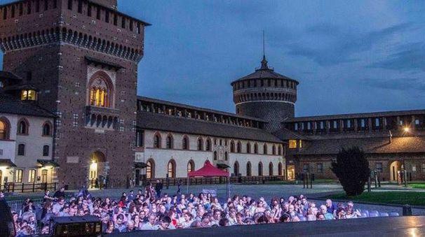 Notturni al Castello Sforzesco di Milano