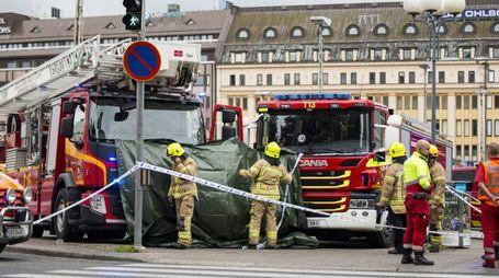 La piazza del Mercato a Turku (Lapresse)