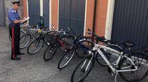 Il ricettatore di bici è stato denunciato dai carabinieri