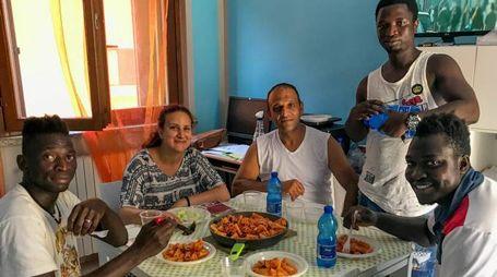 Un piccolo lotto di richiedenti asilo ha trovato accoglienza a Osteriola di Sesto Imolese, poco distante dalle strutture gestite da Solco