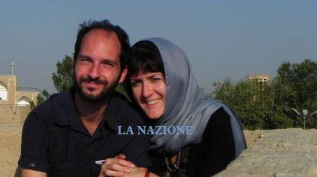 Lisa Biancucci con il marito