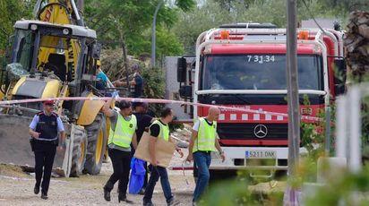 Il covo del terrore ad Alcanar, in Spagna (Afp)