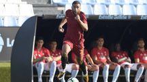 Gregoire Defrel, calciatore della Roma (LaPresse)
