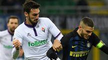 Astori contro Icardi, stasera il duello si rinnova in Inter-Fiorentina