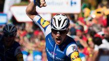 Vuelta 2017, la gioia di Yves Lampaert (Afp)
