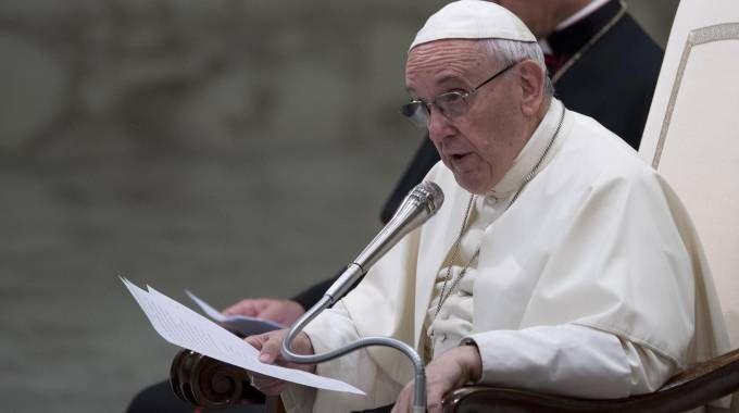 Papa Francesco sarà a Bologna in ottobre (Ansa)